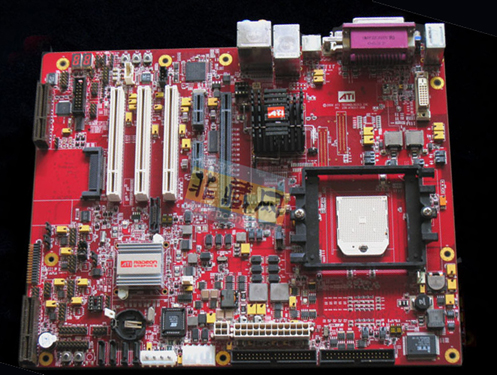 ATI 原厂工程样品主板,堪称科技与艺术完美结合的典范